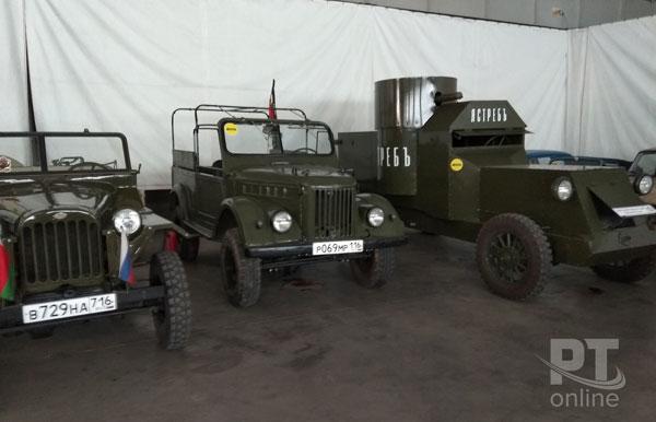 ГАЗ-67,-ГАЗ-69,-Остин-Путиловец