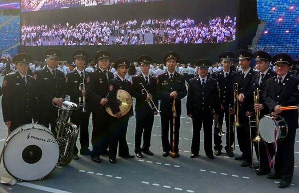 военный-оркестр