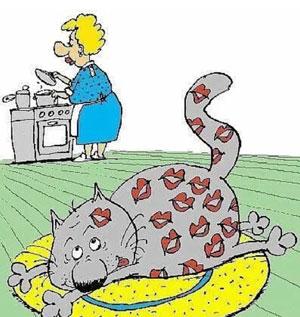 карикатура-толстый-кот