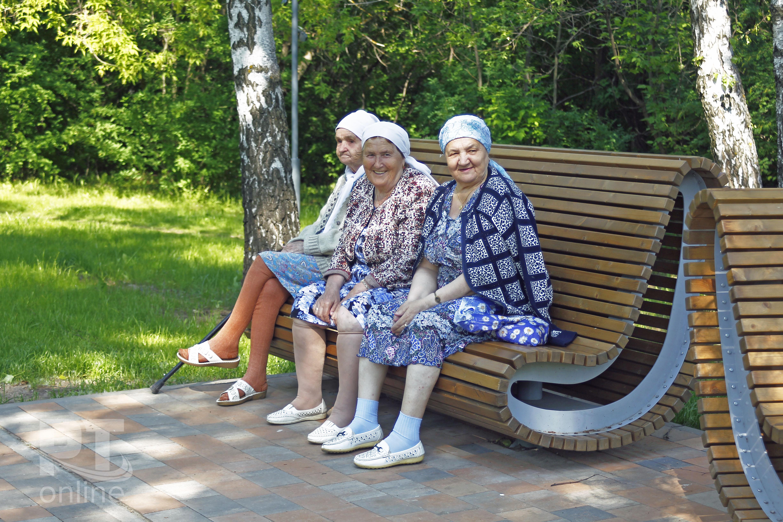 пенсионеры казань