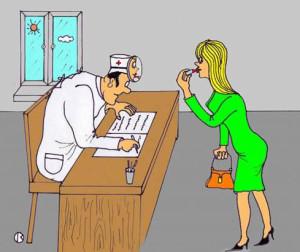 карикатура-у-врача
