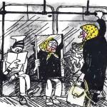 карикатура-в-метро