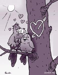 карикатура-люббоаь