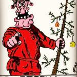 карикатура-елка