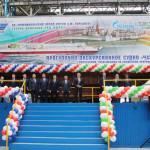 торжественная-церемония-закладки-корпуса-речного-пассажирского-прогулочно-экскурсионного-судна-проекта-03622-«Чайка»