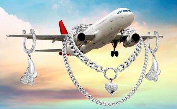 Серебро-самолёт