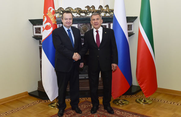 минниханов-встретился-с-министром-иностранных-дел-Сербии-Ивицей-Дачичем