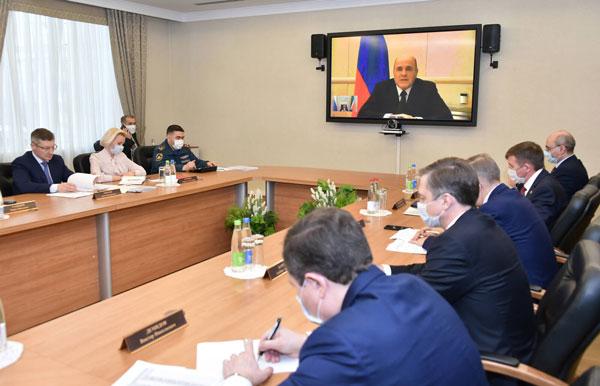 Мишустин-провёл-заседание-президиума-Координационного-совета-по-борьбе-с-коронавирусом
