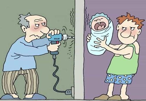 карикатура-сосед