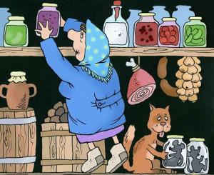 карикатура-в-деревне