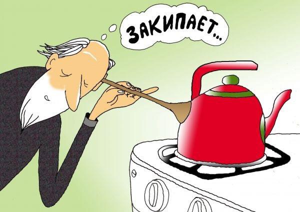 карикатура-чайник