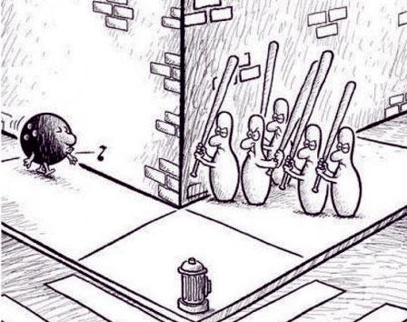 карикатура-месть