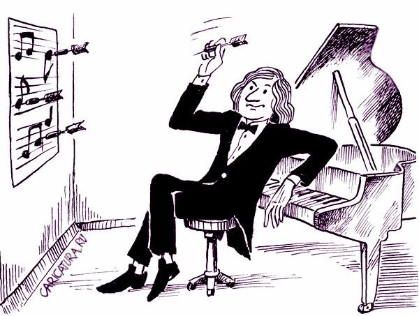 карикатура-композитор