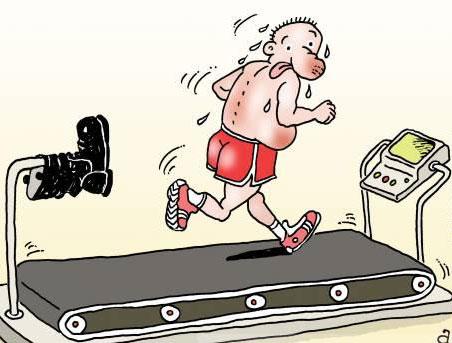 карикатура-тренировка