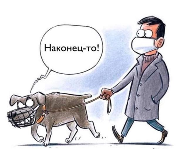 карикатура-маска
