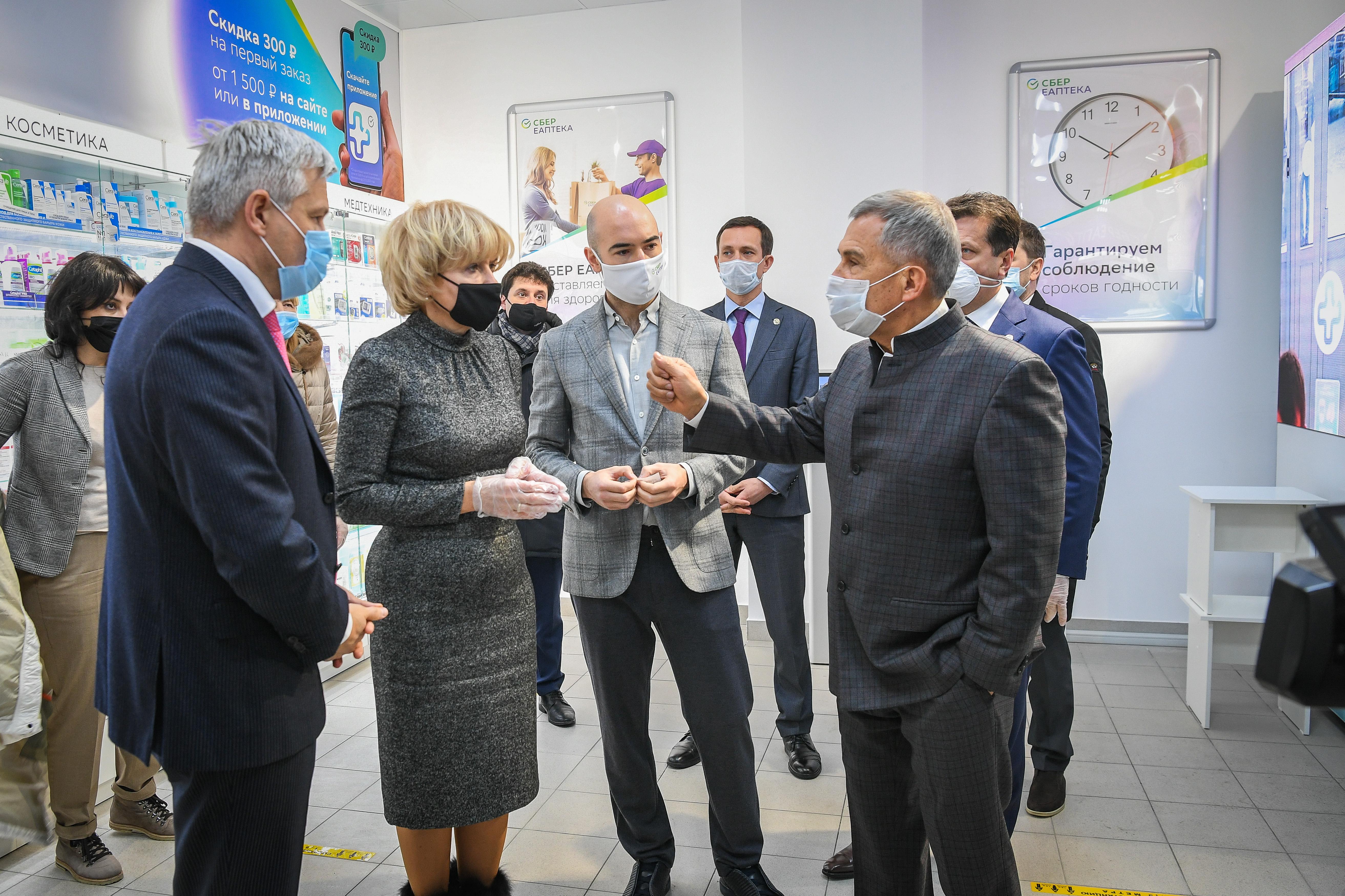 Аптека_Минниханов_Пресс-служба Президента