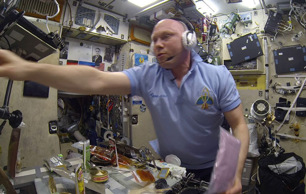 завтрак-космонавта